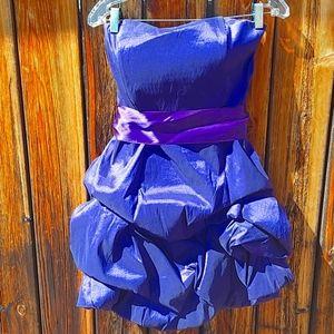 J McClintock Purple cocktail dress